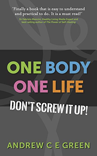 One Body One Life: Don't Screw It Up!