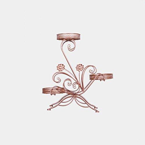 CKH Style européen en Fer Forgé Creative Multi-étages Vert Fleur Araignée Cymbidium Balcon Salon Intérieur Fleur Stand