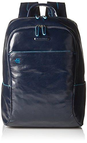 Piquadro Unisex - Erwachsene Rucksack, Blau (Blue)
