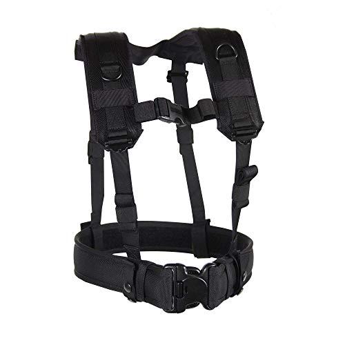 BLACKHAWK Load Bearing Suspenders Harness - Black