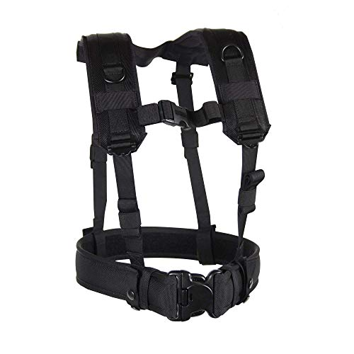 BLACKHAWK Load Bearing Suspenders/Harness - Black