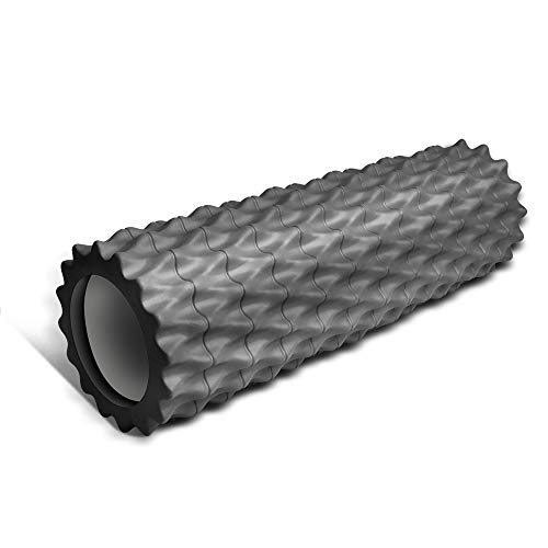 Foam Roller Trigger Point Fitness Foam Roller Tissue Muscle Massage Roller...