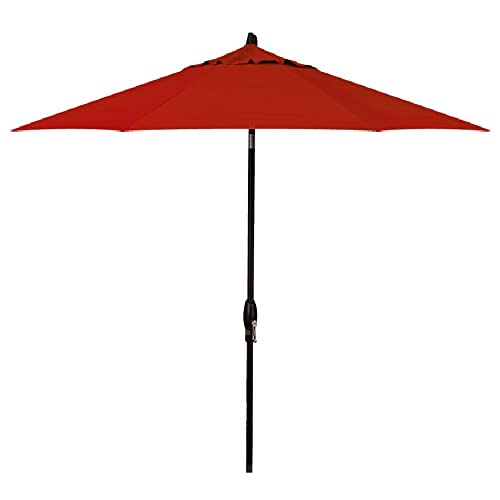 Treasure Garden 9-Foot (Model 810) Deluxe Auto-Tilt Market Umbrella with