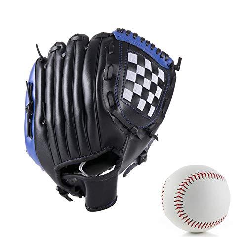 Wonninek 10,5 Zoll Baseballhandschuh Soft Solid PU Leder Verdickungskrug Softballhandschuhe für Kinder Teenager Adult Professional Baseball