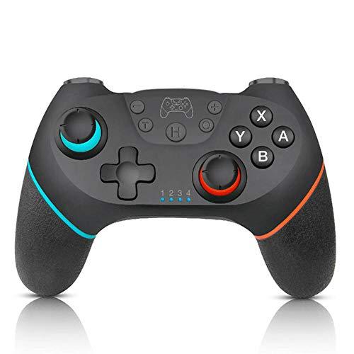 Controlador de Interruptor inalámbrico para Nintendo Switch/Switch Lite, Switch Pro Controller Gamepad para Nintendo Switch con 6-Axis Gyro Dual Shock, Funciona con Bluetooth