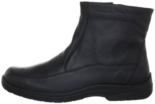 Jomos Feetback, Herren Warm gefütterte Schneestiefel, Schwarz, 42 EU - 7