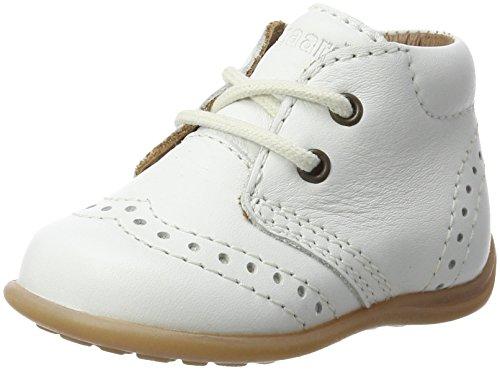 Bisgaard Unisex Kinder Lauflernschuhe Sneaker, Weiß (40 White), 25 EU
