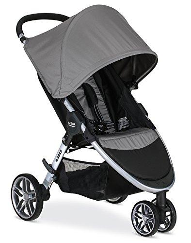 Britax 2017 B-Agile Lightweight Stroller, Steel