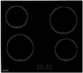 BELDEKO Plaque de cuisson Vitrocéramique 4 feux - 6000W - sensitive