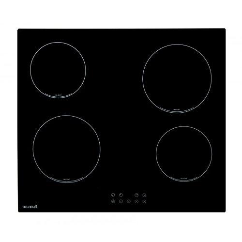 Table de cuisson Vitrocéramique 4 foyers - BELDEKO TV4V-103