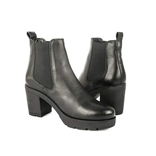 Zerimar dames enkellaarsjes Vrouwen lederen laarzen | Dames Lage enkellaarzen Leren dameslaarzen Jurk | Elegante vrouw enkellaarsjes Damesschoenen voor dames