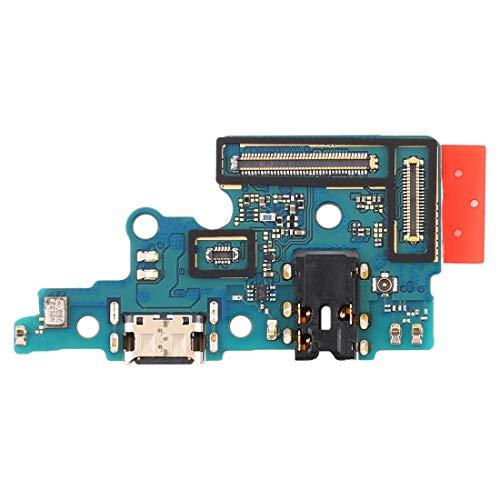 Módulo PCB de repuesto para placa de puerto USB tipo C conector jack de carga + micrófono + jack auriculares compatible para Samsung Galaxy A70 A705F, SM-A705FN SM-A705GM SM-A705MN SM-A7050