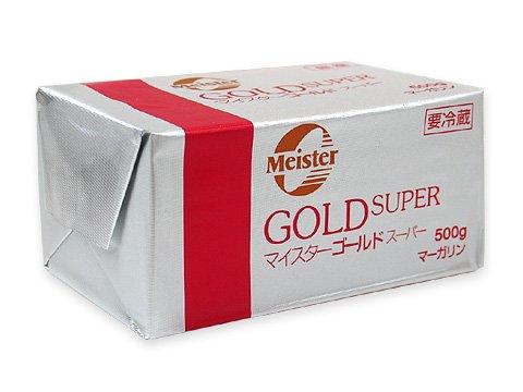 マーガリン マイスター ゴールドスーパー無塩 業務用 500g