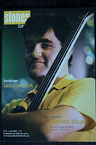 STONES News n° 44 2004 04 ian stewart - rhythm kings - stray cat blues - Sheryl Crow