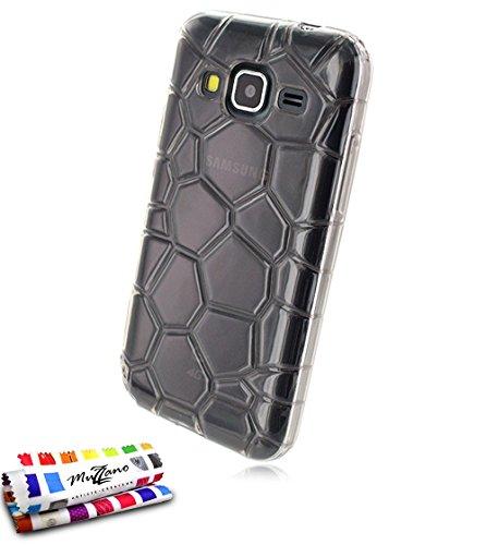 Muzzano Original Artic flexibele beschermhoes voor Samsung Galaxy Core Prime/sm-g360bt - zilver