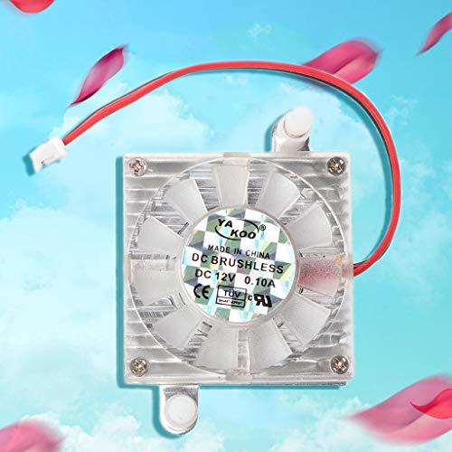 Chou - Ventilador de refrigeración de 2 pines, CC 12 V, para ...