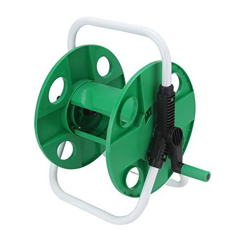 Shoze Portable 45m Reinforced Garden Hose Reel Trolley Free Standing Light...