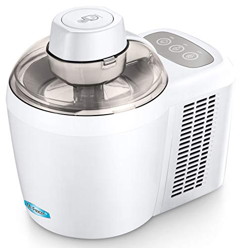Mr. Freeze EIM-700 Self-Freezing Self-Refrigerating Ice Cream Maker, 1.5 Pint, White