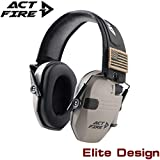 Best Ear Protections - ACTFIRE Shooting Ear Protection, Electronic Ear Protection NRR Review