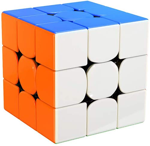 ROXENDA GAN 356 RS Speed Cube, Stickerless GAN 356RS Speedcube, GAN 3x3 Cube V3 System Cubo de Velocidad 3x3x3 for Beginners and Professionals, GAN 356 R Upgraded Version