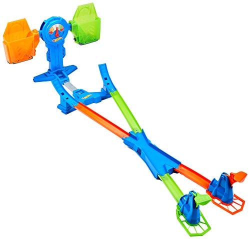 Hot Wheels Báscula superacrobática, accesorios para pistas de coches de juguete (Mattel FRH34)