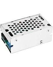 Convertidor Reductor - 24V/12V a 5V 5A 4 Salidas USB Convertidor de módulo de Fuente de alimentación Reductor con Carcasa de Aluminio