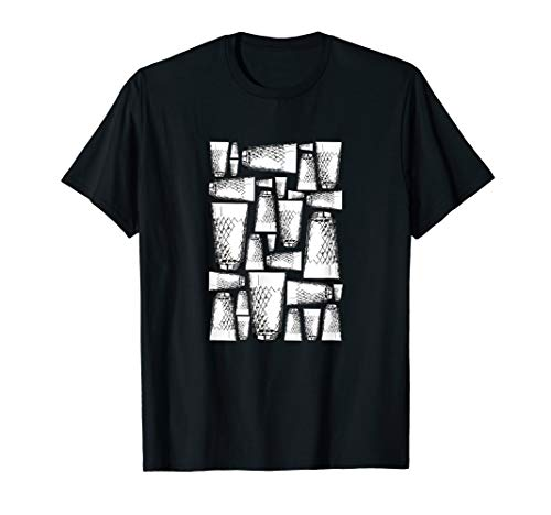 Apfelweinglas T-Shirt Hessen Gerippte Äppler Glas Frankfurt