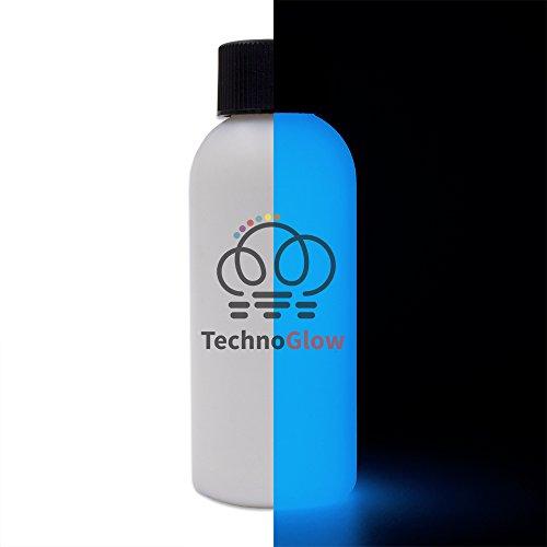 Glow in The Dark Paint, Best Blue Glow - Multiple Colors - 8 fl oz