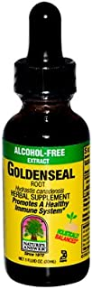 Bulk Saver Pack 8x1 FZ : Nature's Answer Goldenseal Root Alcohol Free