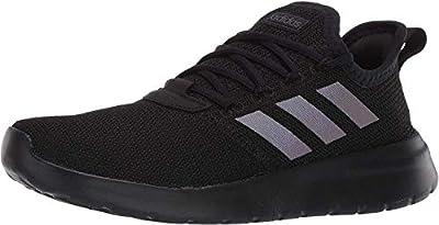 adidas Men's Lite Racer Reborn Running Shoe, Black/Black/Grey, 10 M US