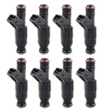 MOSTPLUS 36LB 0280155737 0280155868 Fuel Injectors Compatible for Ford GM V8 LS1 LT1 5.0L 5.7L 380cc   ECU Tuning Required (Set of 8)