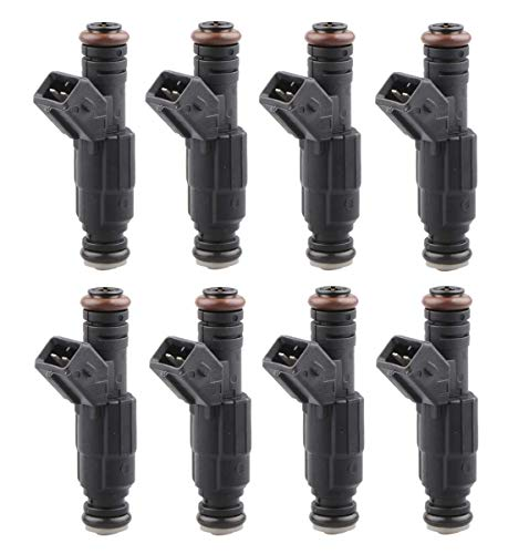 MOSTPLUS 19LB EV1 Fuel Injectors for BMW Chevy Ford Pontiac | ECU Tuning Required (Set of 8)