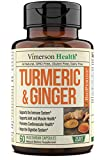 Immune support – Turmeric Ginger is one of our greatest nutritional supplements for immune support. We've made sure each of these vitamins contains 1000 mg of tumeric curcuma, which can support your immune system by balancing inflammation.* Joint sup...