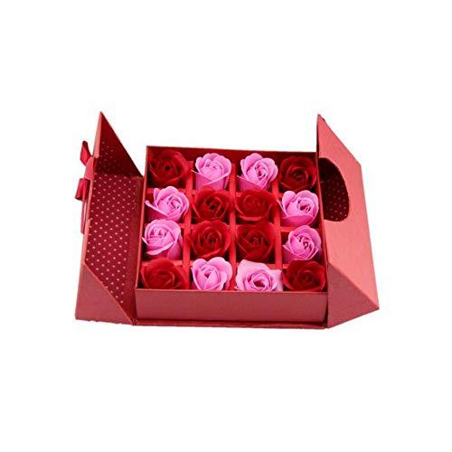 Ruiting Ramo de Flores de jabón con la Caja de Embalaje per