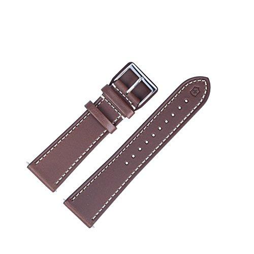 Victorinox Uhrenarmband 23mm Leder Braun - 004698