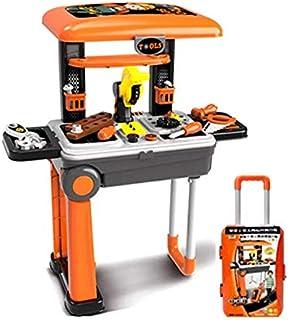 مجموعة ادوات لعب الاطفال مع حقيبة العاب بيت اللعب