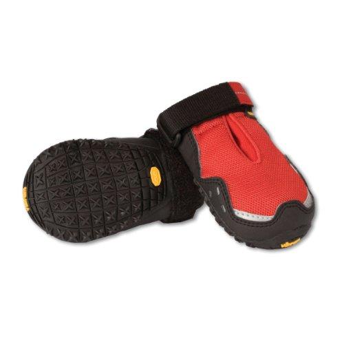 Ruffwear Bark'n Boots Grip Trex Hundeschuhe rot Größe M