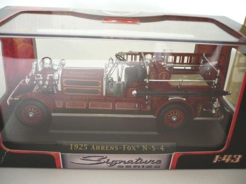 Ahrens Fox N-S-4, Feuerwehr, 1925, Modellauto, Fertigmodell, Yat Ming 1:43