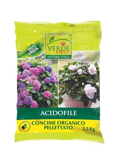VERDE VIVO Concime Organico pellettato acidofile 2,5 kg