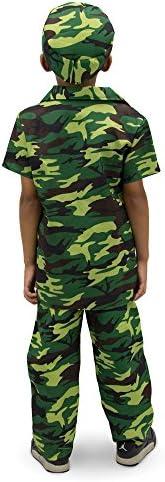 Childrens military costume _image3