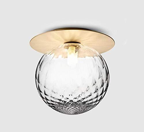 Deckenleuchte Eingangslampe Persönlichkeit Kugel Deckenlampe Flur Ganglampe Balkonglas Deckenlampe