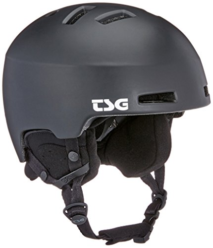 TSG Tweak Solid Color Helm, Satin Black, S/M