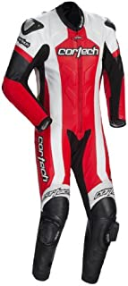 Cortech Adrenaline Red One-Piece Leather Suit - 2X-Large