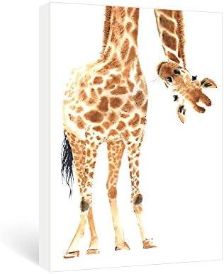 Giraffe nursery wall art