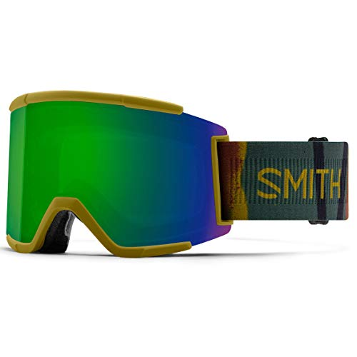 SMITH (SMIZD) Squad XL Skibrille mit Chroma Pop, Spray CAMO, Mittelgroße/Große Passform