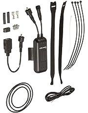 Busch & Müller 361BW - Cargador de dínamo con USB, Color Negro