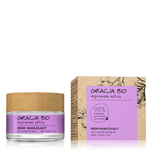 Gracja - Crema hidratante natural y vegano - 98% de ingredientes naturales