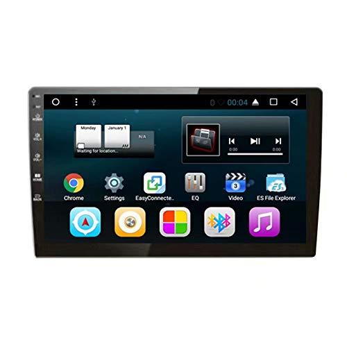 TOPNAVI Android 7.1 Quad Core Universel 2Din 10.2Inch Autoradio pour Flip Réglage Universel Radio Stéréo Navigation GPS Lecteur Radio WiFi 3G RDS Lien Miroir FM AM