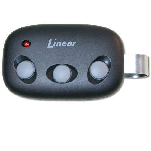 Linear MCT-3 MegaCode Three Button Three Channel Compact Visor Gate Garage Door Opener Remote Control Transmitter Part Number DNT00089.