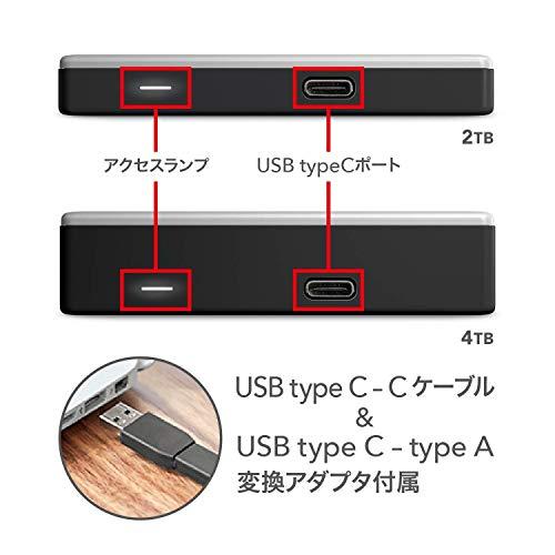 WDMac用ポータブルHDD5TBUSBType-Cタイムマシン対応MyPassportUltraforMacパスワード保護/3年保証WDBPMV0050BSL-WESN